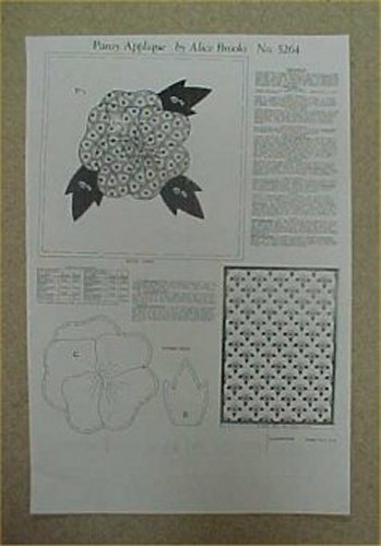 21 GREEN AND WHITE PINE TREE PATTERN APPLIQUE QUIL - by